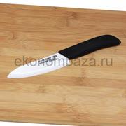 Керамический нож Русский Повар с лезвием из белой керамики 130 мм.