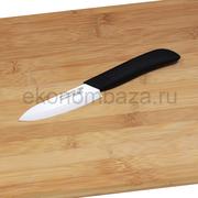 Керамический нож Русский Повар с лезвием из белой керамики 100 мм.