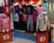 Эксклюзивный отдел одежды в крупнейшем торговом центре города