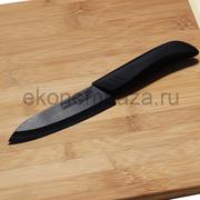 Керамический нож Русский Повар с лезвием из черной керамики 130 мм.