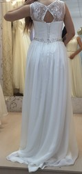 красивое и удобное свадебное платье