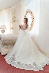 Продам итальянское шикарное свадебное платье