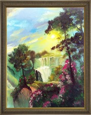 Картина с маслом Пейзаж