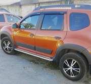 Защита порогов «Эстонец» на автомобиль Renault Duster